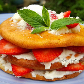 Low Carb Strawberry Shortcake Dessert Recipe
