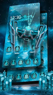 3D Space Galaxy Launcher - náhled