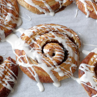 Croissant Cinnamon Rolls.