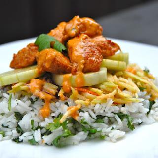 Spicy Thai Chicken Tower
