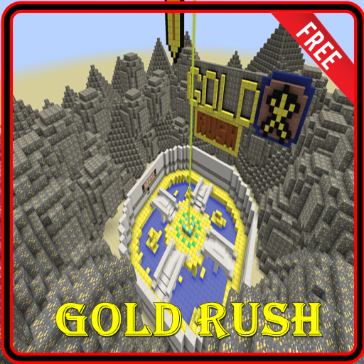 GoldRush Map For MCPE Guide