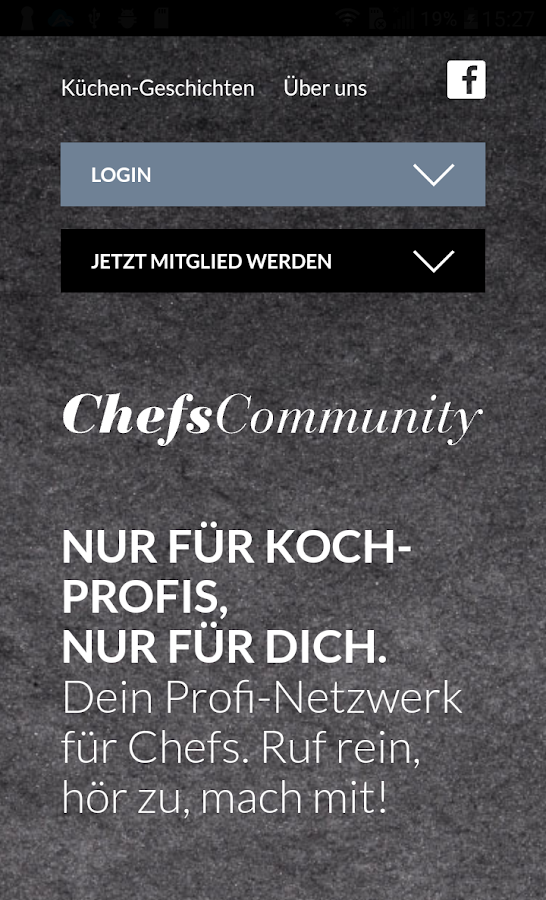 ChefsCommunity- screenshot