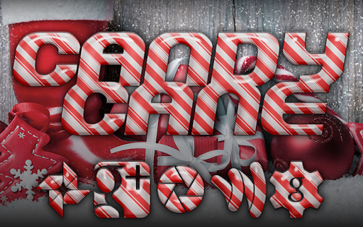 Candy Cane SOLO Launcher Theme