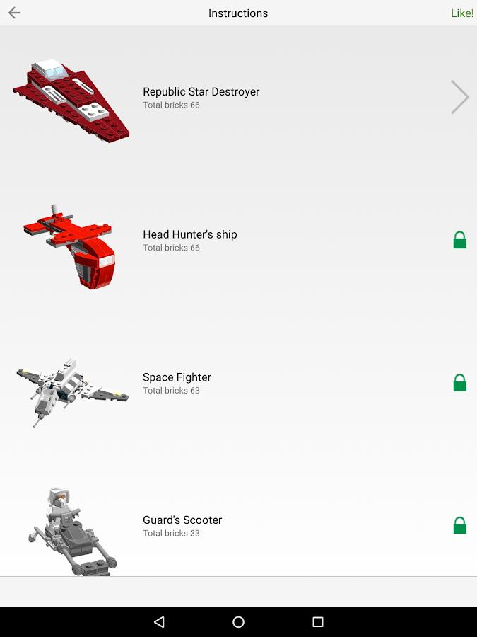 Инструкция Лего Роботів