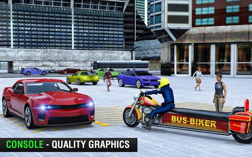 Bus Bike Taxi Driver u2013 Transport Driving Simulator apkdebit screenshots 4