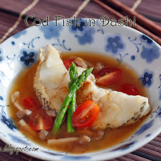 Cod Fish in Dashi