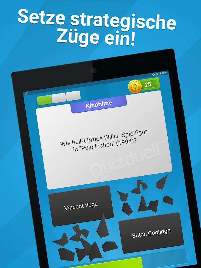 Quizduell- screenshot