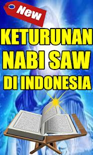 KETURUNAN NABI MUHAMMAD SAW DI INDONESIA - náhled