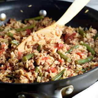 Turkey and Rice Skillet