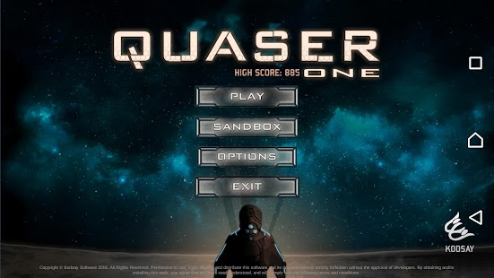 Quaser One- screenshot thumbnail