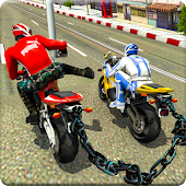 Chained Heavy Bikes Real Stunt Racing