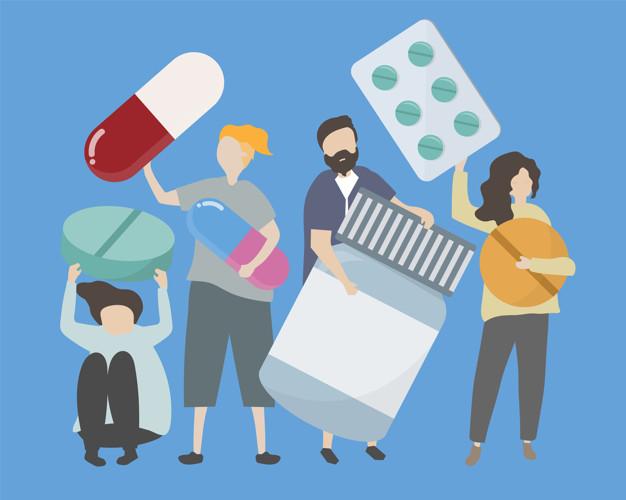 medication illustration