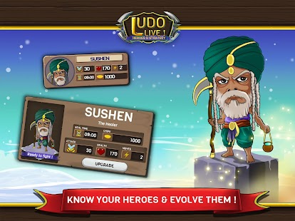 Ludo Live! Heroes & Strategy- screenshot thumbnail