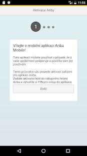 Ariba Mobile - náhled