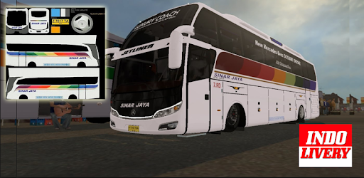 Livery BUSSID Sinar Jaya Simulator for PC