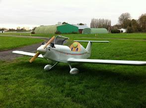 Photo: Le voila avec sa nouvelle hélice et 67h de vol et de mise au point
