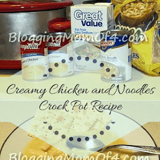 Creamy Chicken and Noodles.