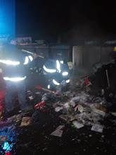 Photo: Požar kontejnerja pokopališče Dol 8.1.15