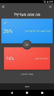 מה אתה מעדיף? - משחק של העדפה - screenshot