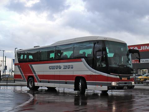北海道中央バス「高速はこだて号」 3946 新函館北斗駅にて