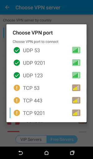 Zero VPN 4.0.6 screenshots 3