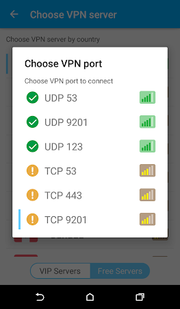 Zero VPN 3.2.1 screenshot 641973