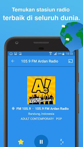Simple Radio - Stasiun Radio FM AM  screenshots 5