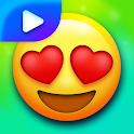 Animated Emoji Stickers - WAStickerApps icon