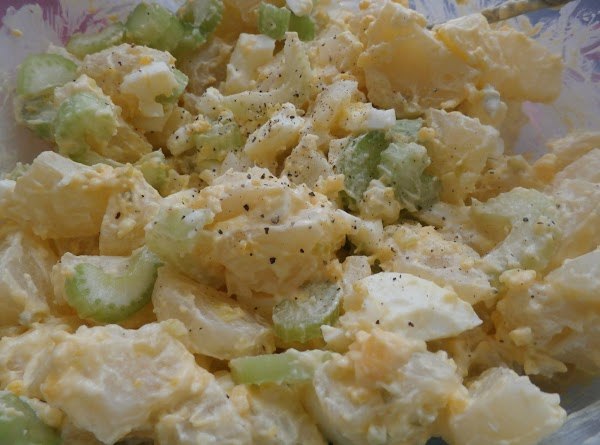 Crunchy Egg & Potato Salad Recipe