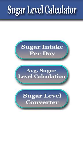 Sugar Level Calculator