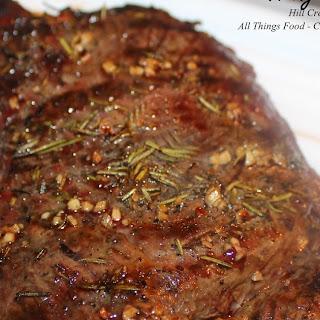 Grilled Hanger Steak.