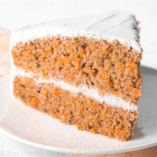 The Ultimate Healthy Carrot Cake.