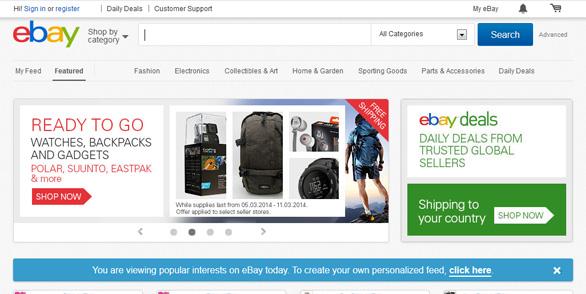 eBay.com - Trang web mua hàng Mỹ chính hãng và đấu giá sản phẩm từ Mỹ