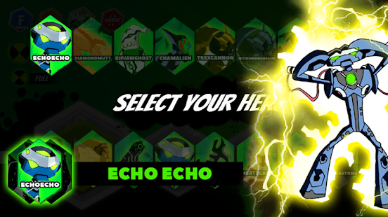 Alien Ultimate Battle Echo-Echo Transformation - náhled