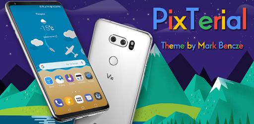 PixTerial Theme for LG V30 & LG G6 - Apps on Google Play