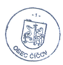 Photo: a régi pecsét, a régi címerrel, másik változat