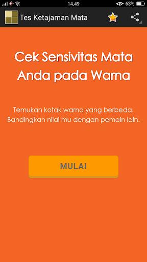 Tes Ketajaman Mata - Tes Buta Warna 1.0 screenshots 2