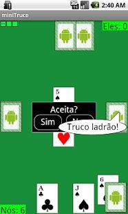Game miniTruco (Truco Bluetooth) APK for Windows Phone