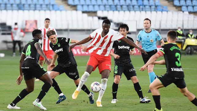 Almería y Leganés sueñan con la tercera posición.