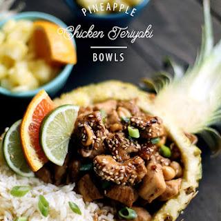 Pineapple Chicken Teriyaki Bowls