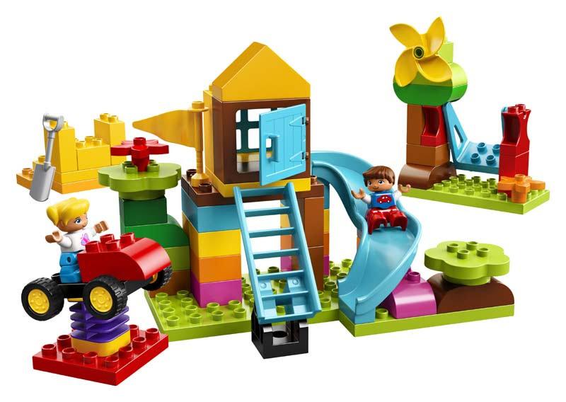 Contenido de Lego® 10864 Caja de Ladrillos: Gran Zona de Juegos