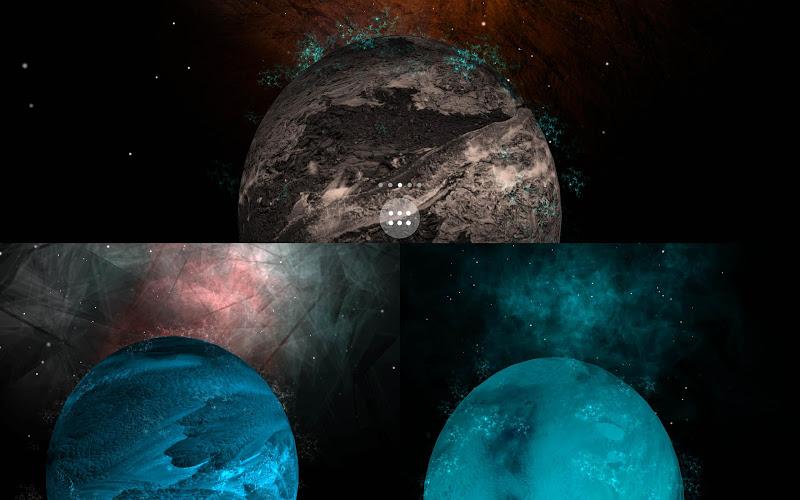 Скриншот Galaxy planet LWP free