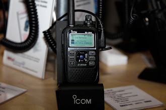 Photo: The Icom IC-31A UHF HT.  This supports both analog and D-Star.