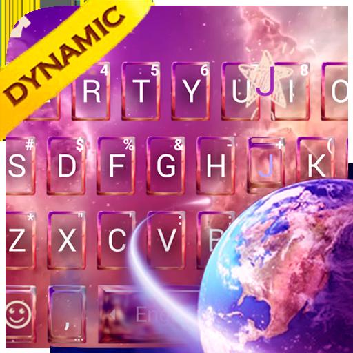 Live Sky Galaxy Keyboard Theme Icon