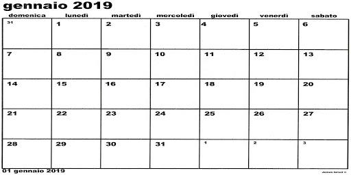 Calendario Stampabile Gennaio 2020.Stampa Del Calendario Soto 2018 2019 2020 2021 22 App Report