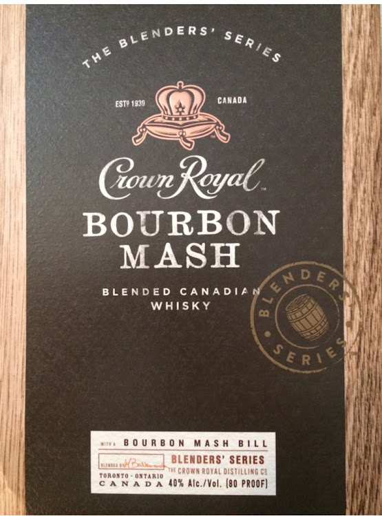 Logo for Crown Royal - Bourbon Mash
