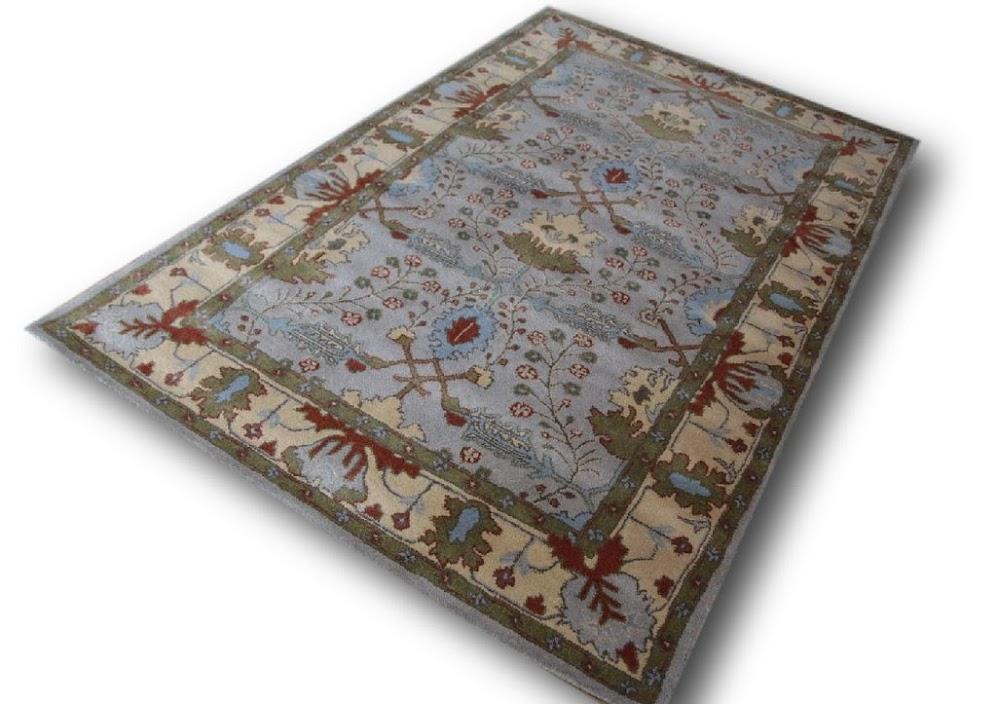 dywan persian ziegler wełniany ręcznie tkany 155x245 tradycyjny kwiatowy