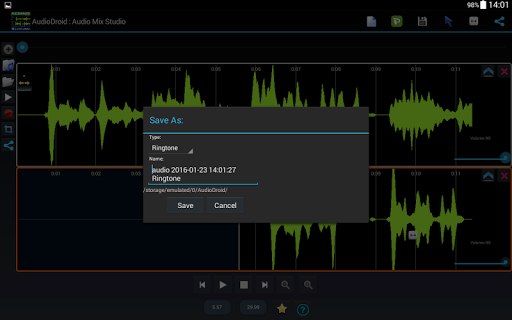 AudioDroid : Audio Mix Studio 2.8.3 screenshots 10