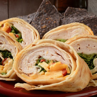 Turkey-Cheese Wrap