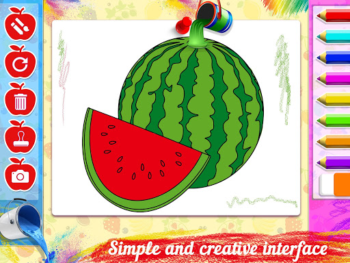 Fruits Coloring Book - Kids Coloring Book 1.0.0 screenshots 3